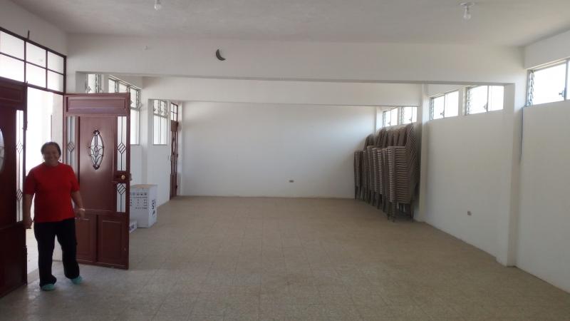 Grote vergaderzaal en activiteitenruimte