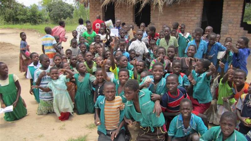 Kindren voor de school