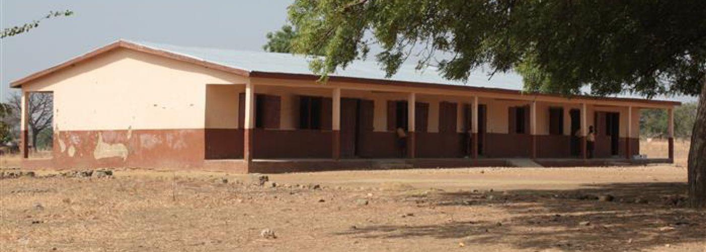 Standaard klaslokalen in Ghana