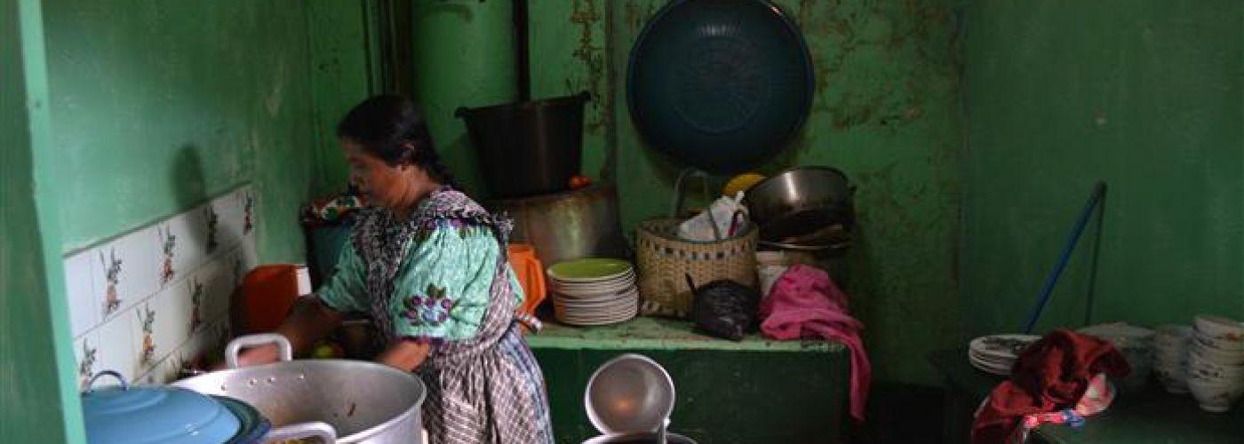 Keuken in de opvang