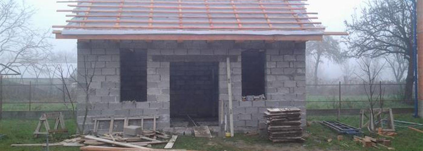 OE115 - afbouw 4e woonhuis Rativci - stookhok