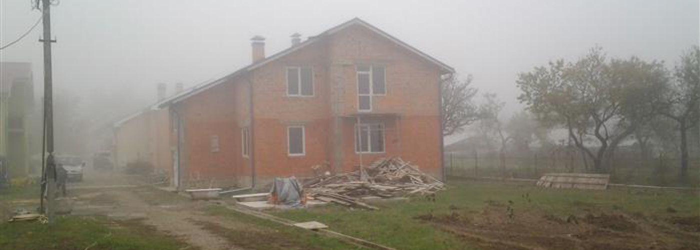 OE115 - afbouw 4e woonhuis Rativci - achterzijde