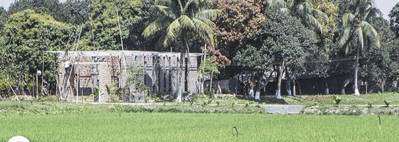 Bouwstijl in het noorden van Bangladesh