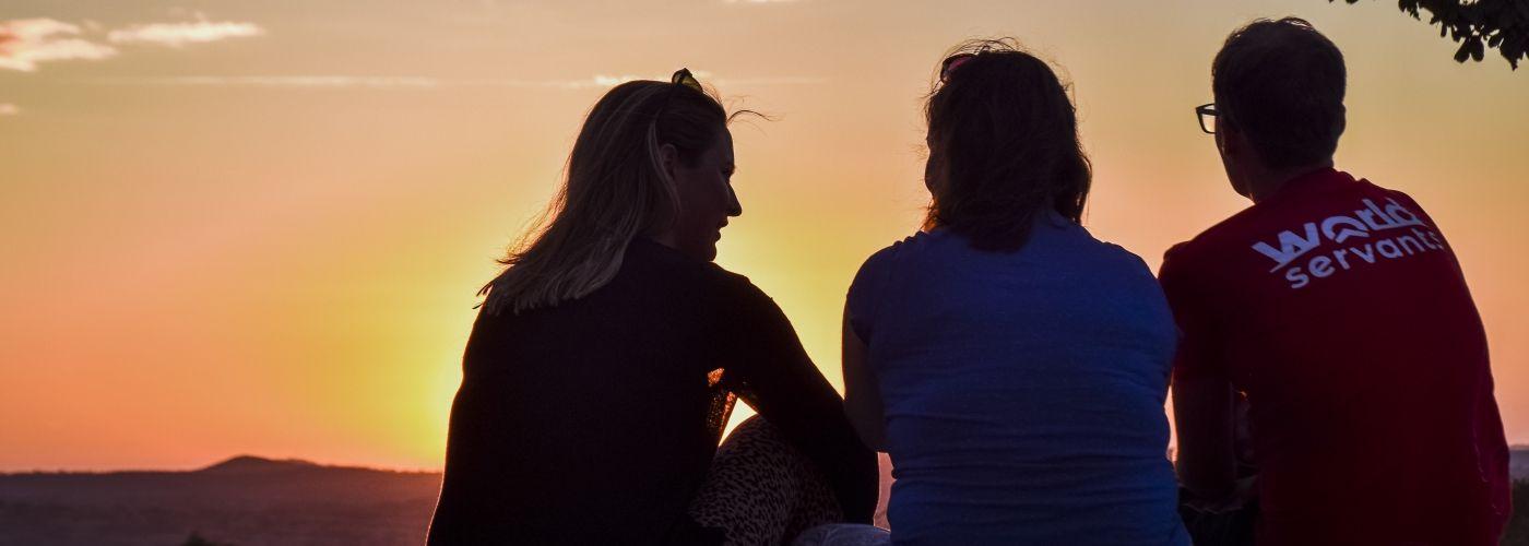 Mooie zonsondergangen