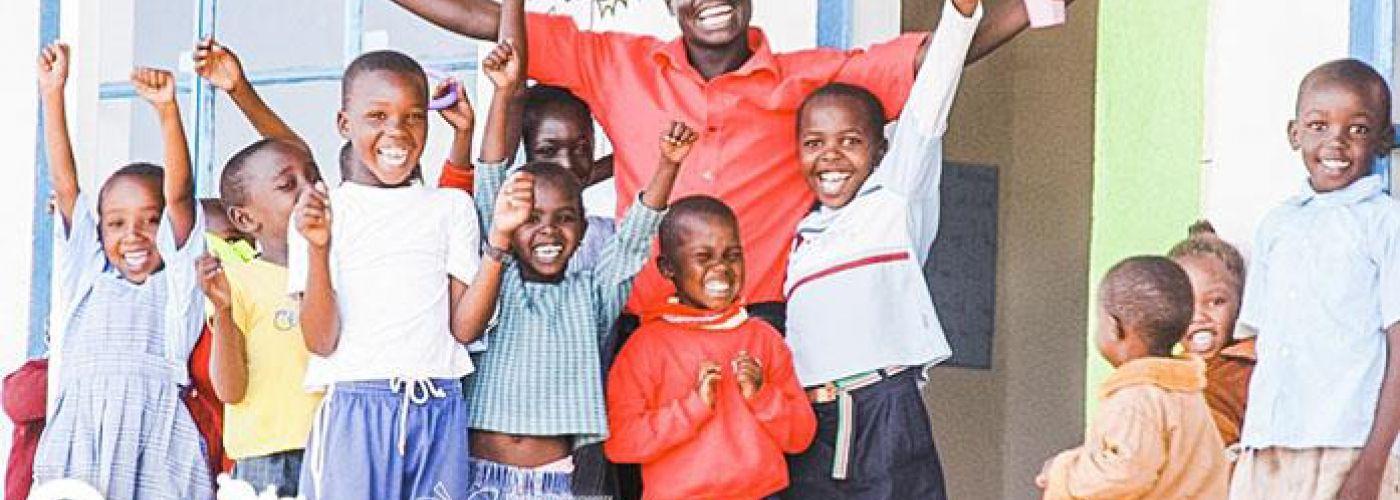 Kinderen in Olchore Onyore
