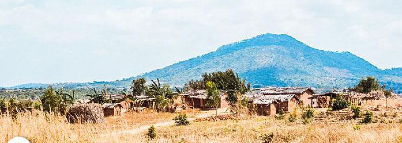 Typisch Malawiaans dorpje