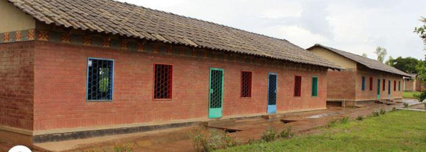 Schoolgebouw gebouwd met hulp van EU