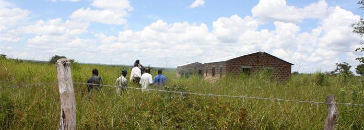 Leraren woningen in Miloso