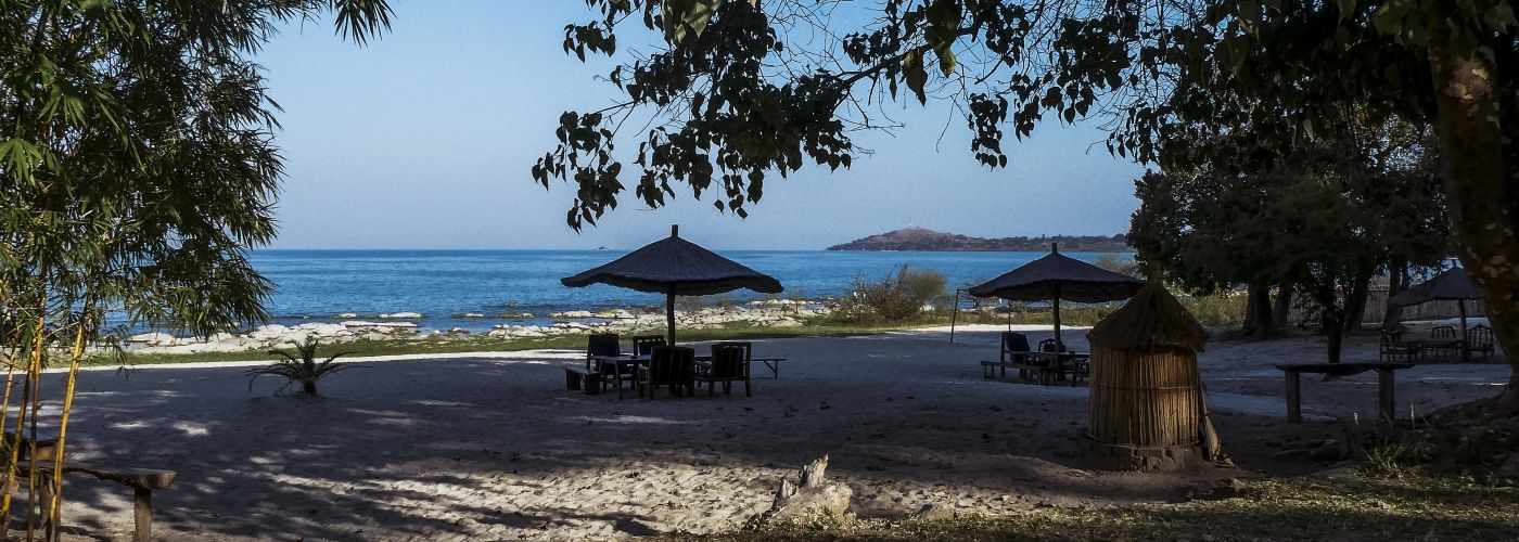 Even uitblazen bij Lake Malawi