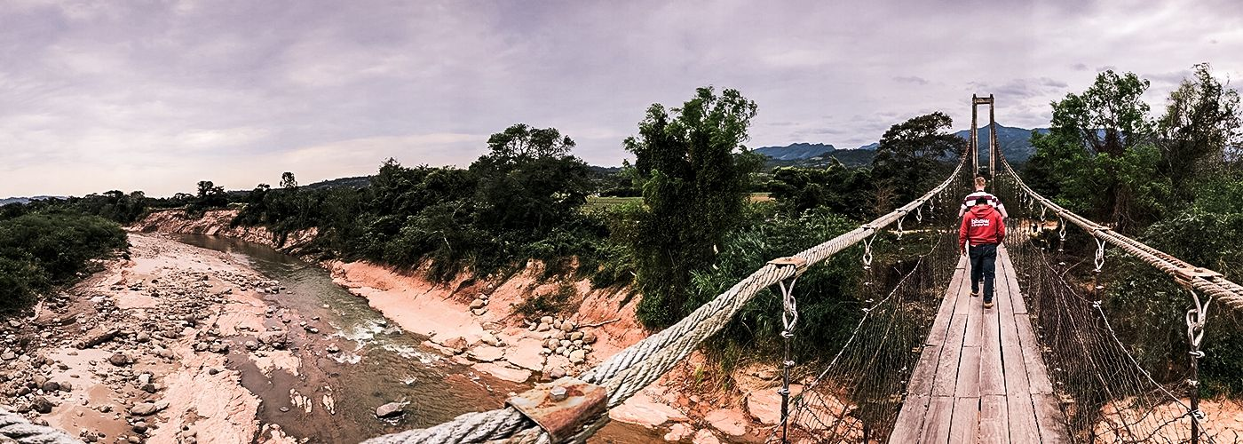 Het mooie landschap van Bolivia