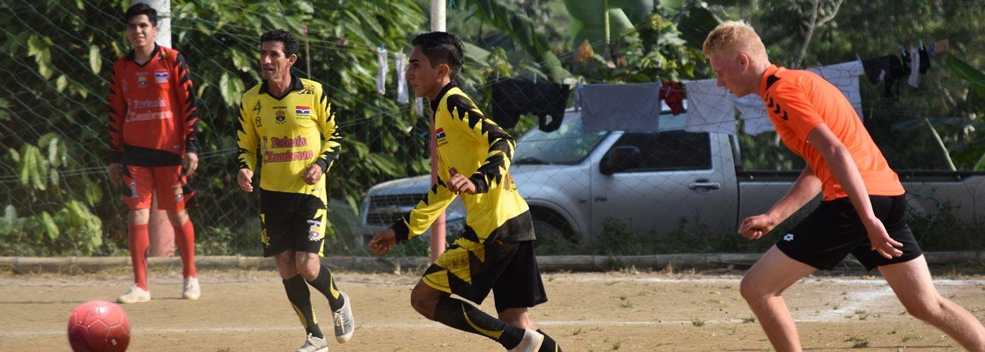 Potje voetballen