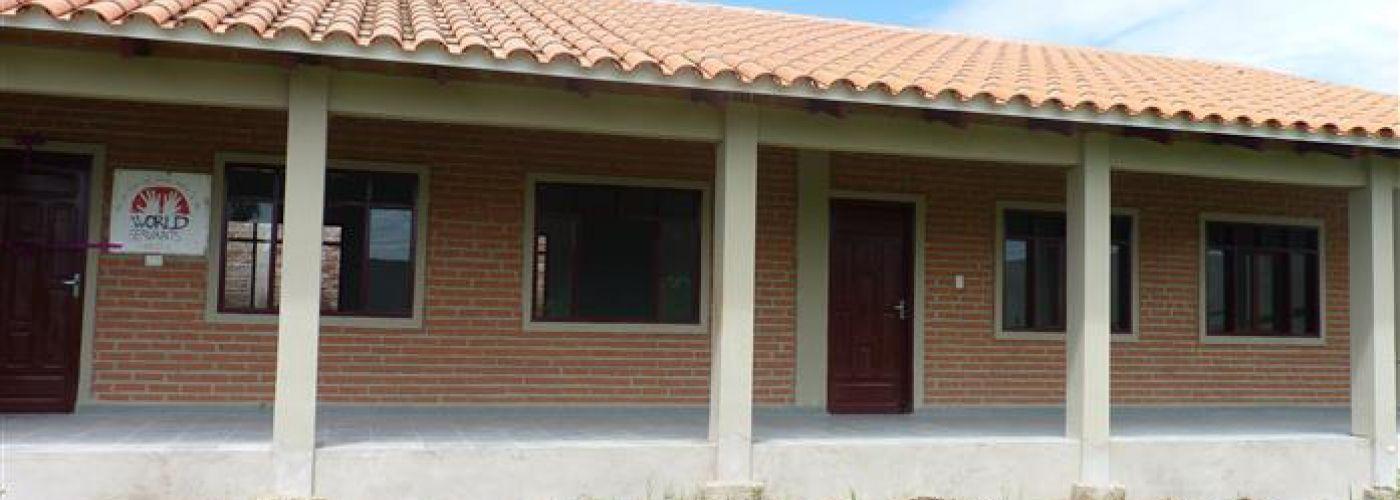Huidige schoolgebouw, voorzijde