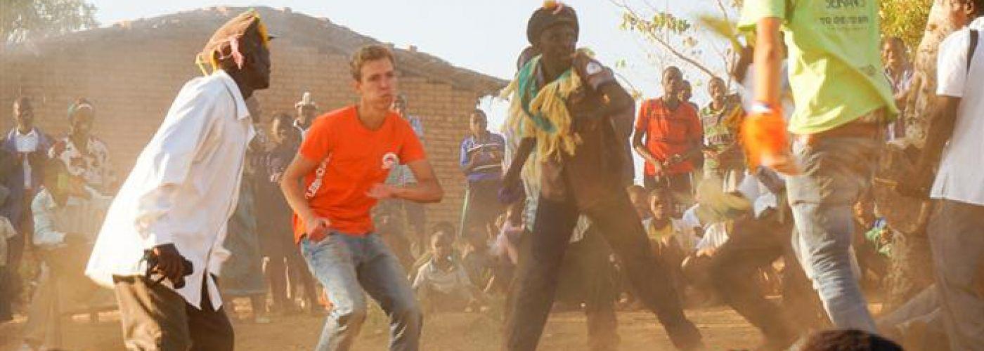 Intens meedoen in de Malawiaanse cultuur