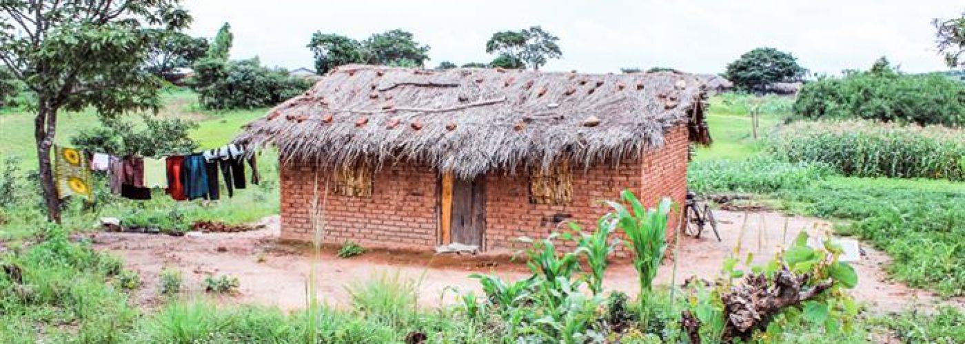 Een lerarenwoning in Mkumbanjara