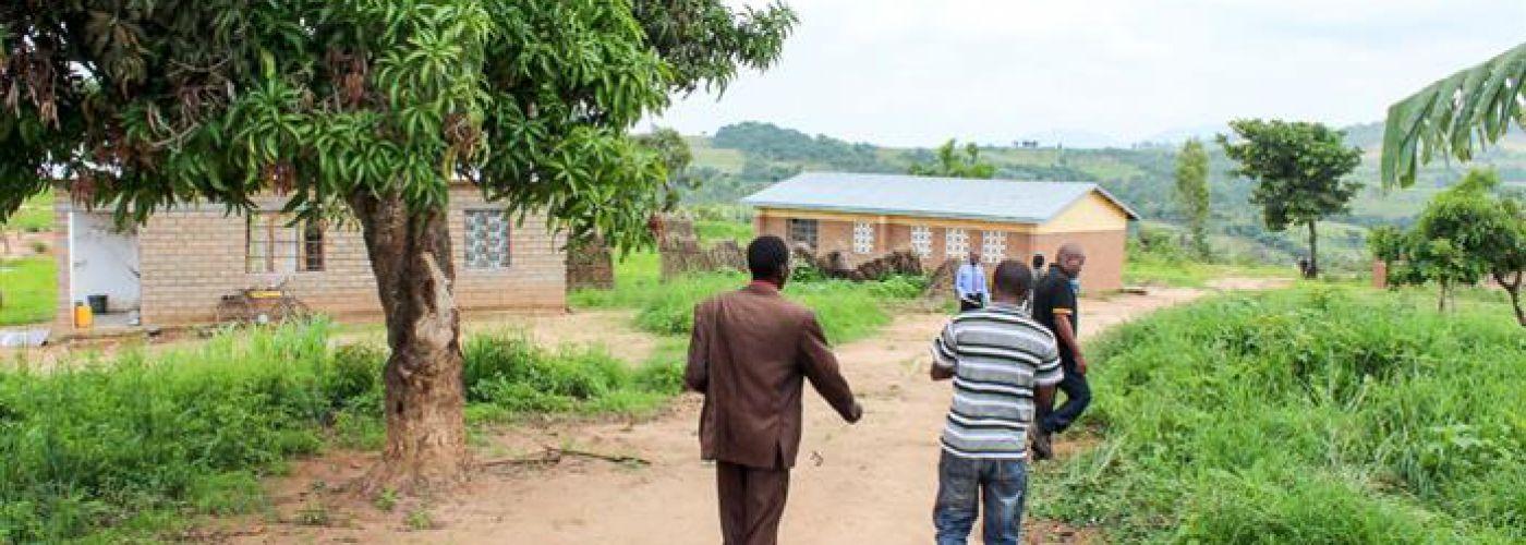 Omgeving van de school