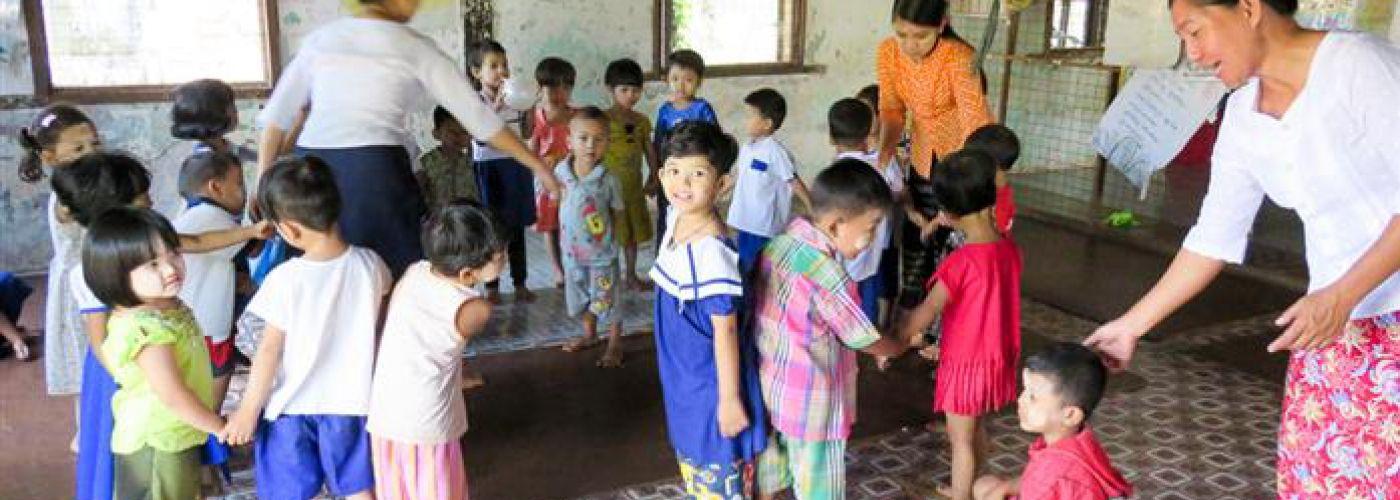 Kinderdagverblijf en oefenruimte voor kinderen met beperking