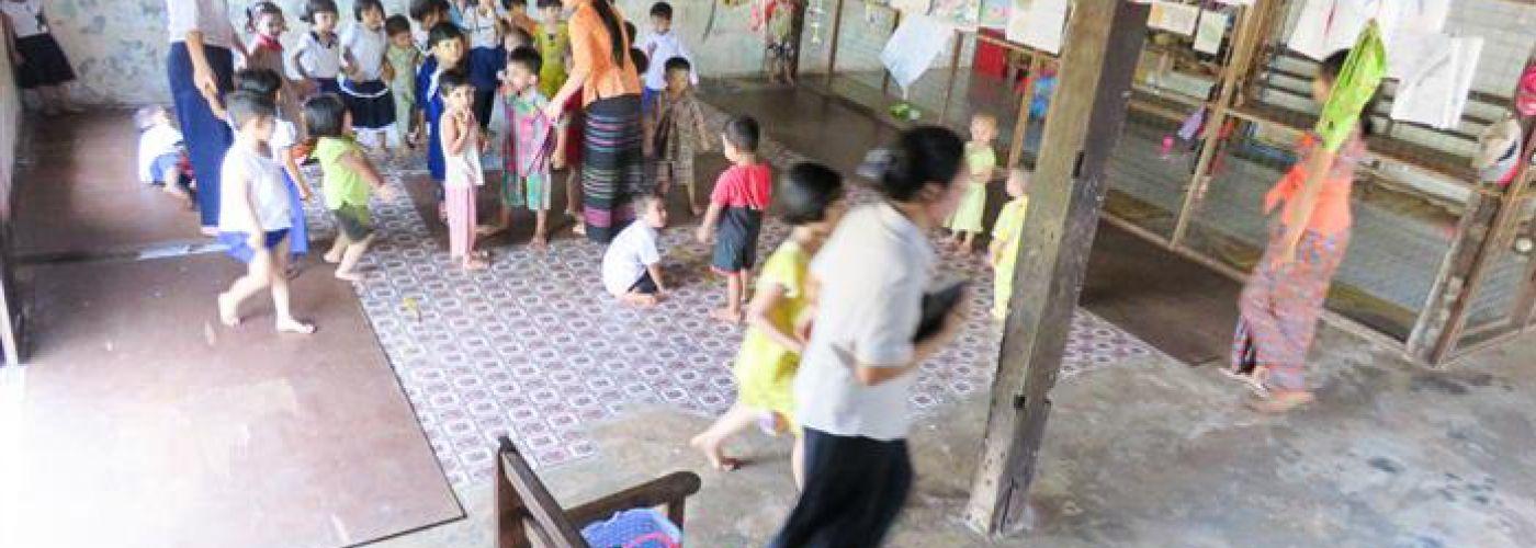 Centrale ruimte voor de kinderen