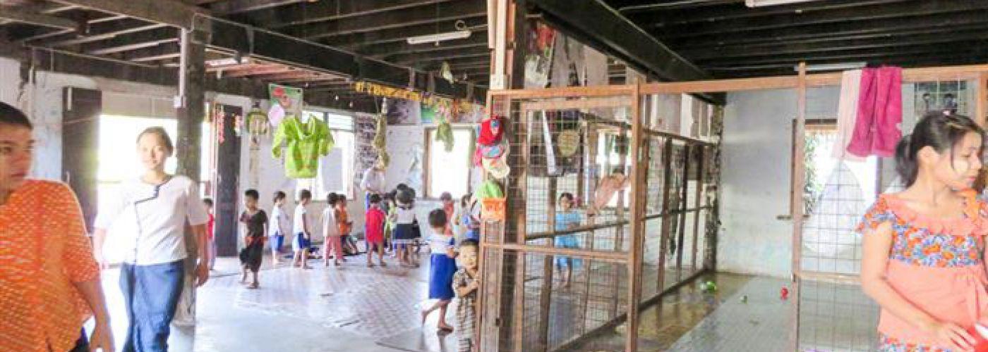Speelruimte voor de kinderen