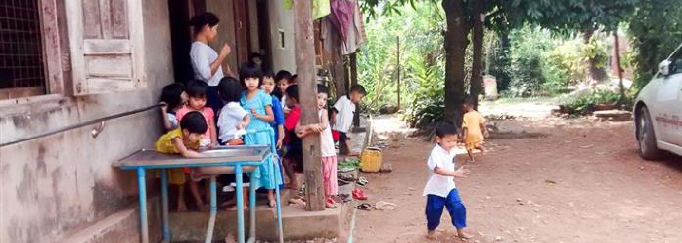 Kinderdagverblijf: handenwassen voor het eten