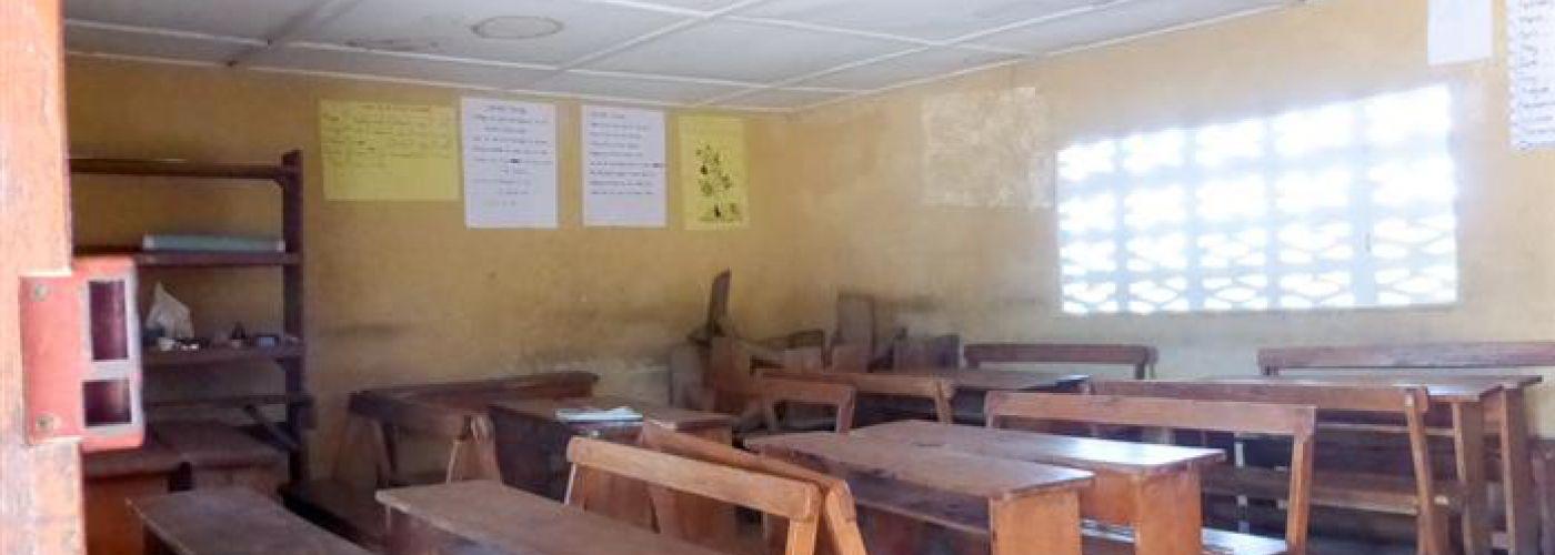 Huidge klaslokaal