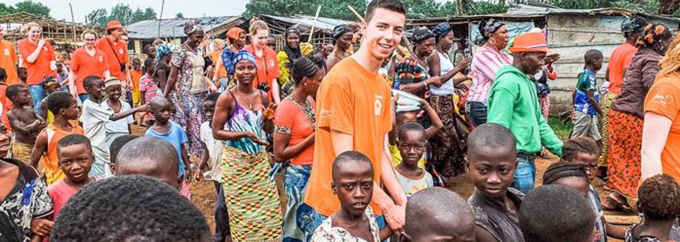 Op weg naar de interland Sierra Leone - Nederland
