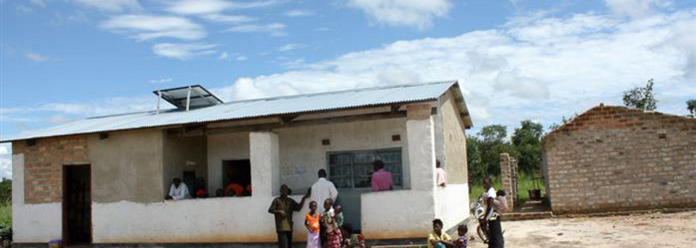 De in 2011 gebouwde kliniek