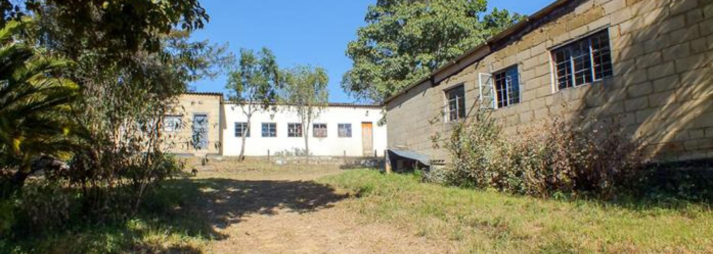 Gebouwen op terrein van trainingscentrum