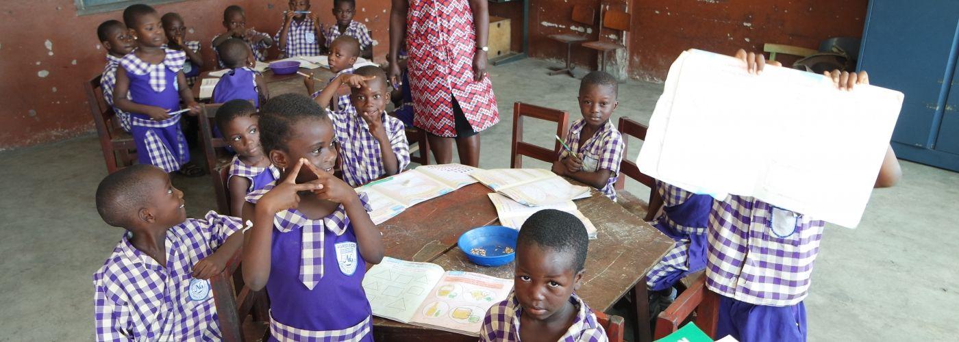 Kinderen op de kleuterschool