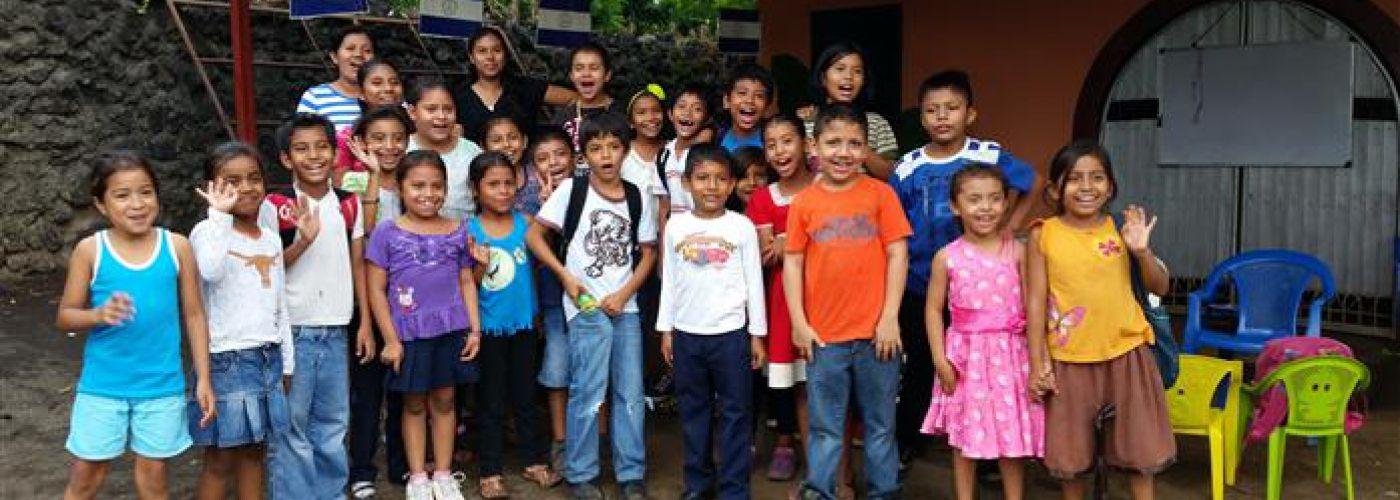 De kinderen van het project