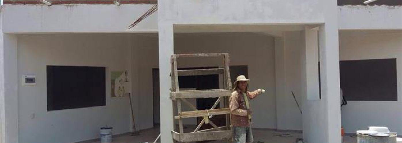 Voortgang bouw