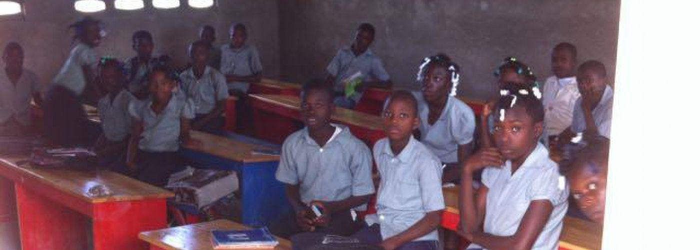 Leerlingen in Marot