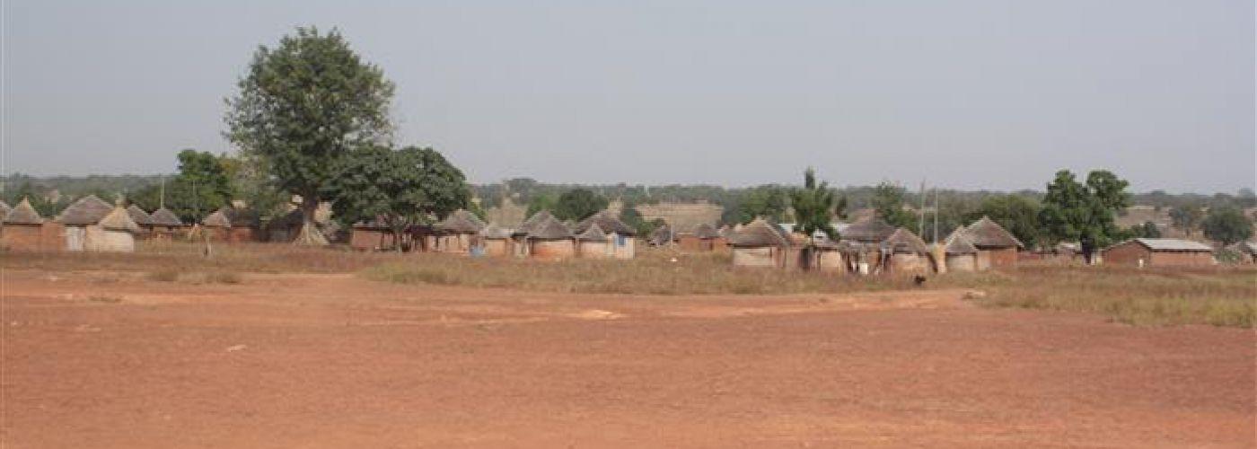 De huizen in Za-ari