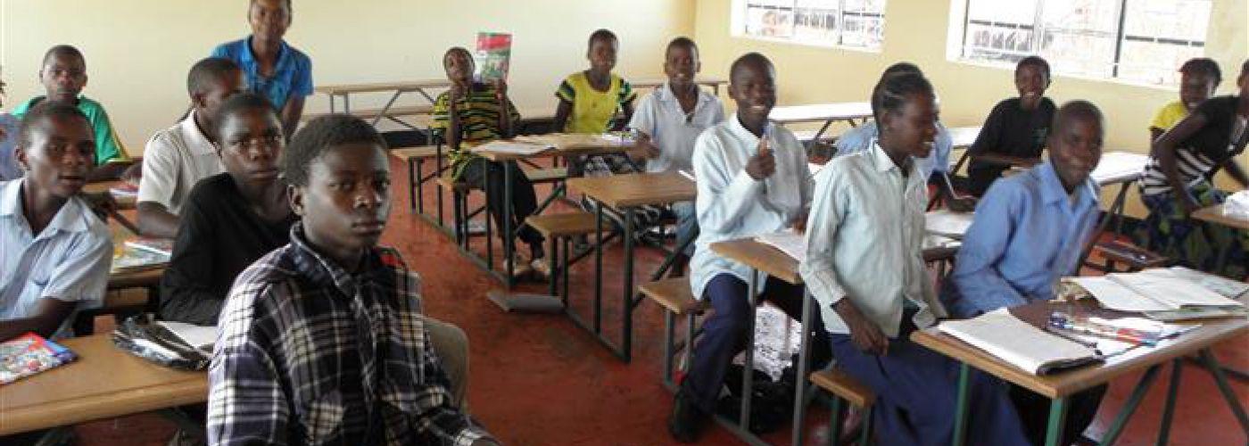 Nieuwe klaslokalen in gebruik