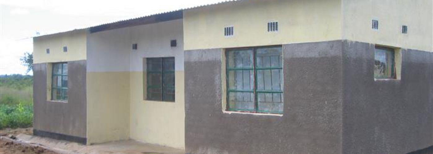 De lerarenwoning in Kachele