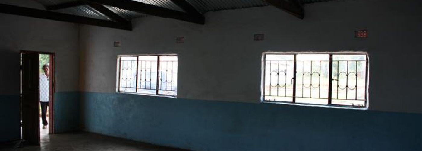 Nieuwe klaslokaal