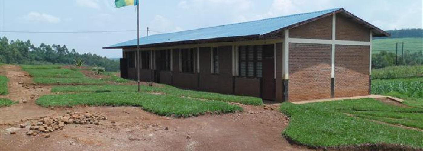 De basisschool in Nyarushishi