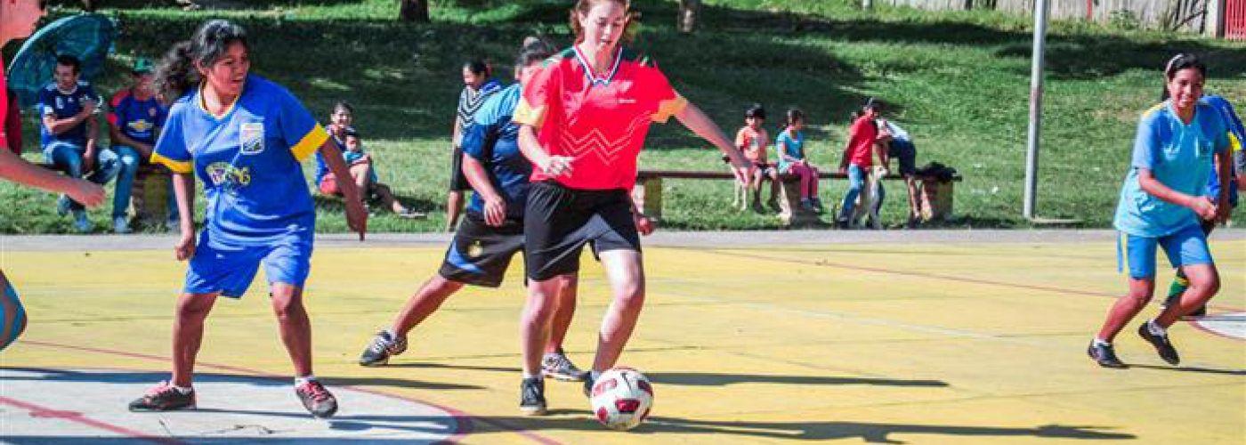 Potje Boliviaans voetbal