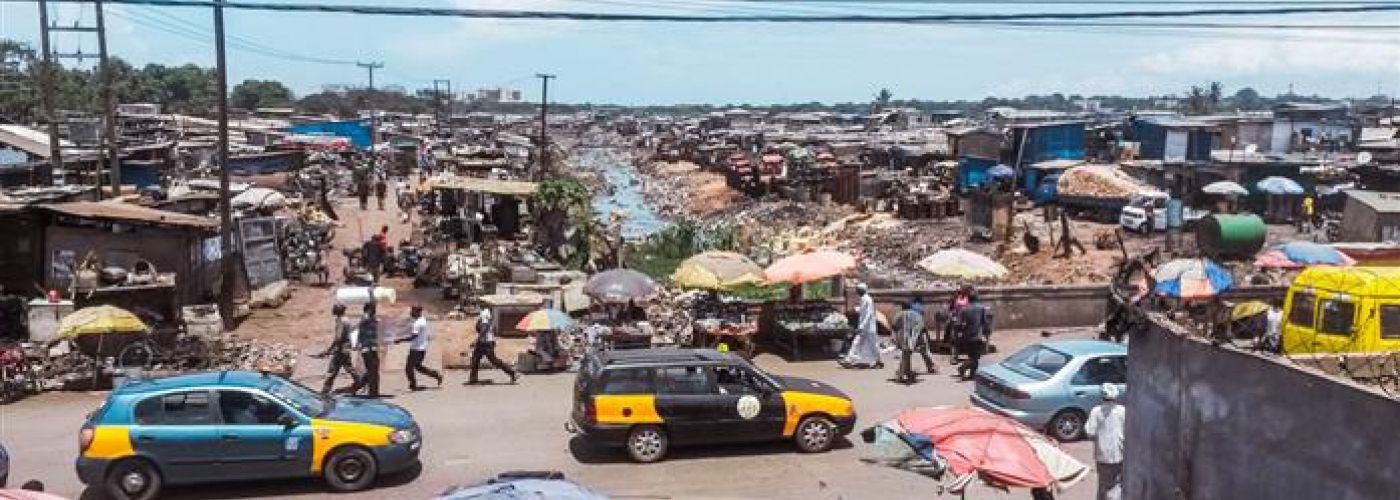 Agbogbloshie, de sloppenwijk voor het centrum