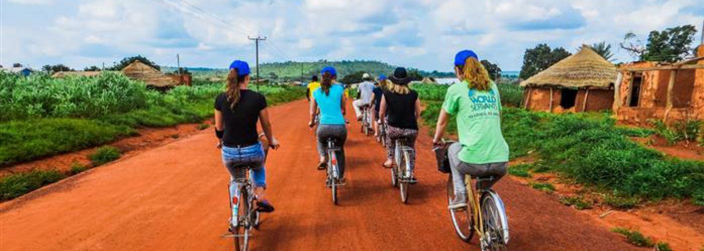 Africa by bike