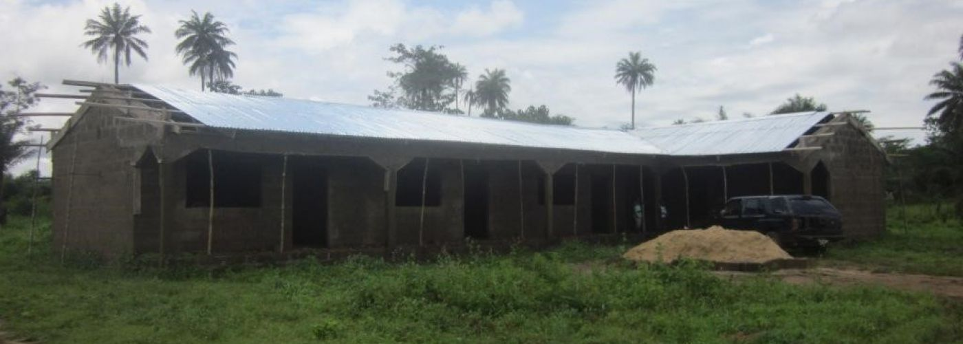 Front view Barmoi Lol Community Primary school