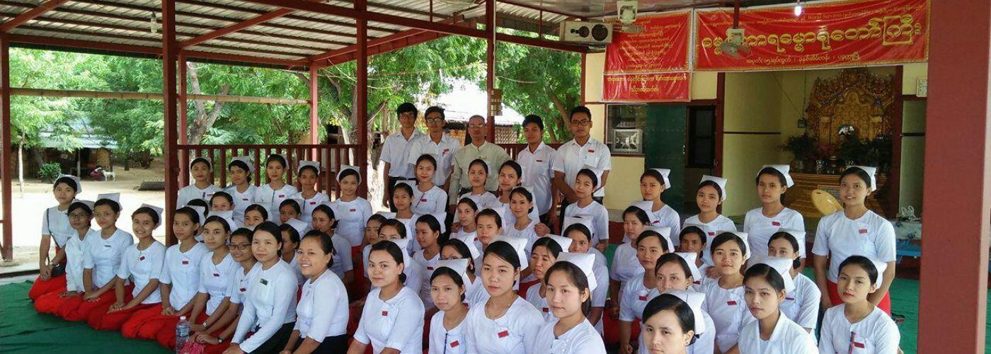 Training aan de verpleegkundigen in spé