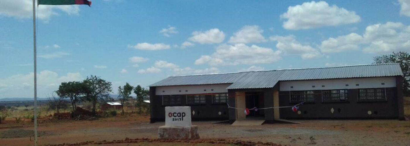 Schoolgebouw in Matipa