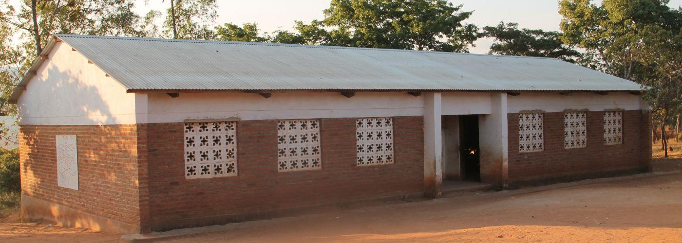Het door WS gebouwde classroom block