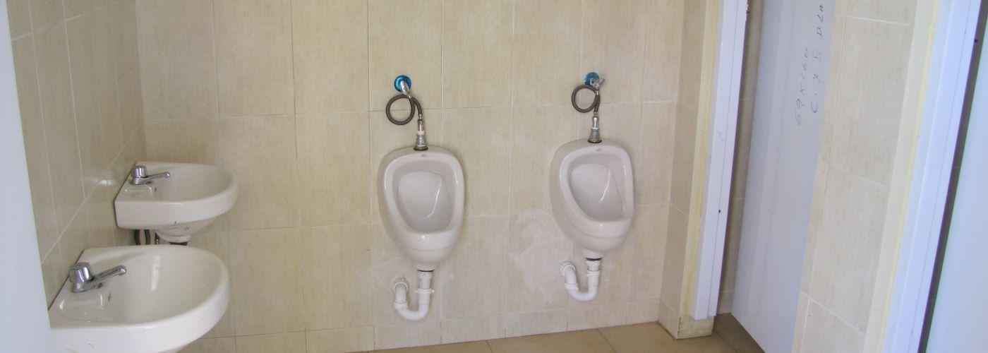 Nieuwe toiletten