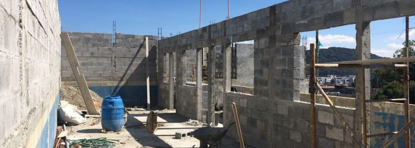 De bouwplaats