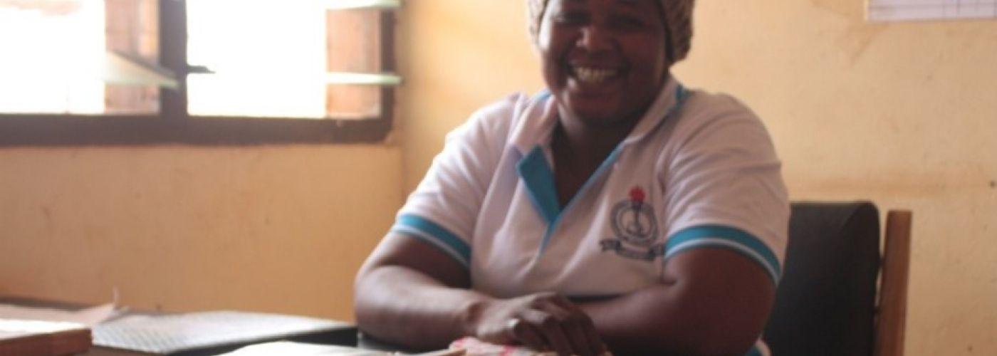 Schoolmanager Mrs. Masakatu Mohammed