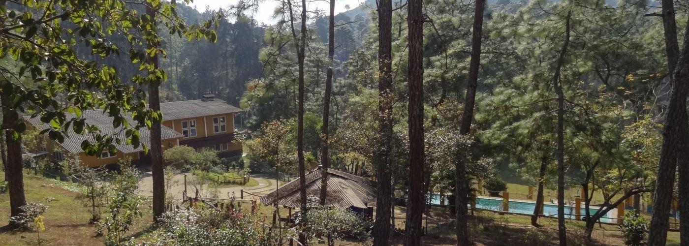 Het rustgevende terrein van Camp Canaan