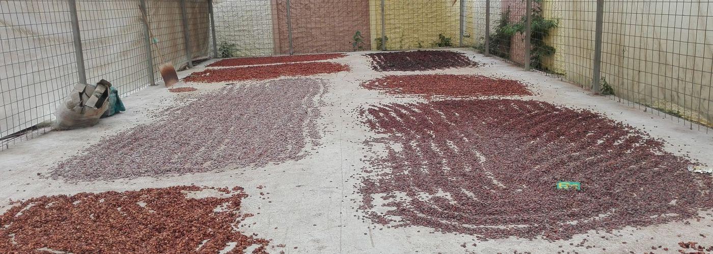 Zo ziet een droogvloer in Ecuador er ongeveer uit