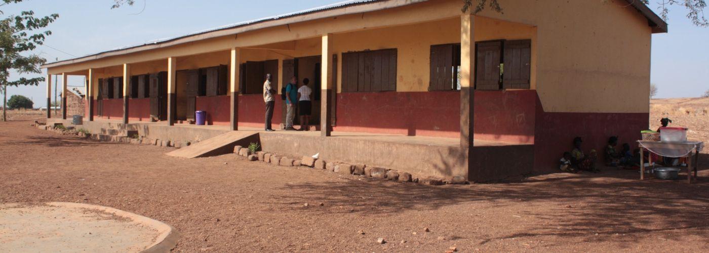Een bezoekje aan het nieuwe schoolgebouw