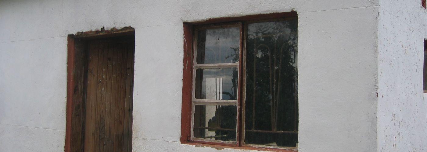 De lerarenwoning in Lobi